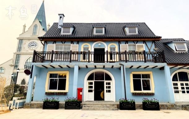花园别墅,北欧风格落地窗风格 5房别墅