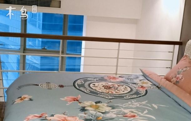 loft海河观景温馨舒适大床房