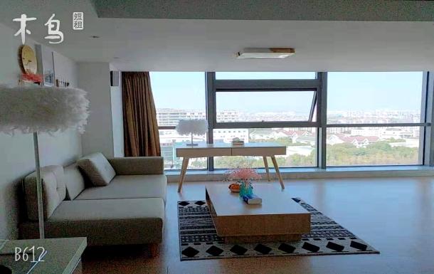 中山医院正对面 地铁17号线1.9公里 2室1厅1厨1卫loft复式楼60平