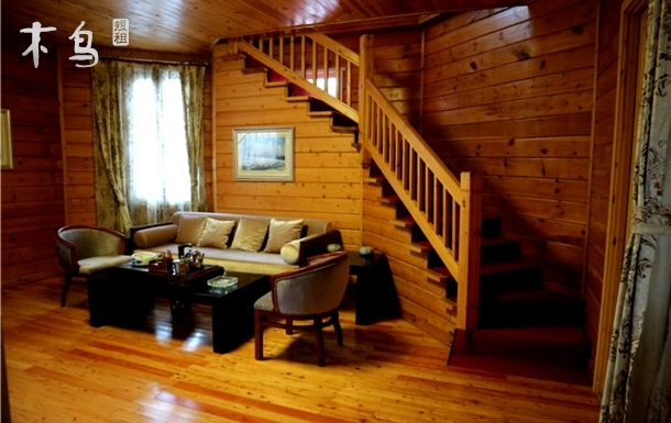 北戴河旅游区内豪华木屋别墅