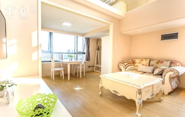 杭州城西银泰旁loft豪华两居室无清洁费