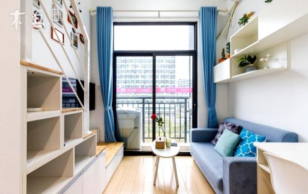超开阔视野外阳台,紧邻万科广场%五山%华农华师暨大一居室