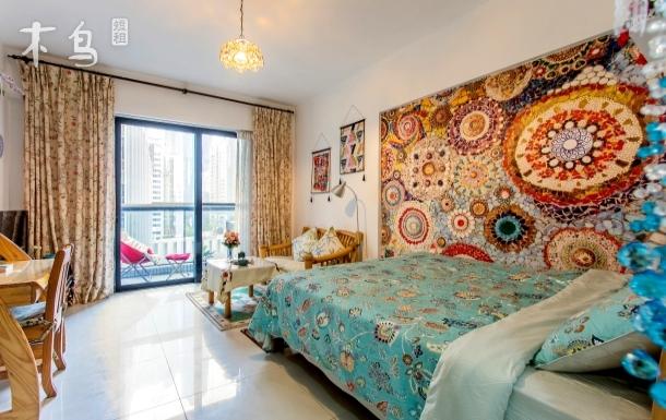 广州塔 珠江新城 美国领事馆异域风情大床房
