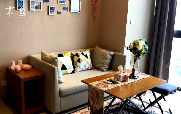 上海唐镇地铁站豪华复式公寓可做饭会展张江