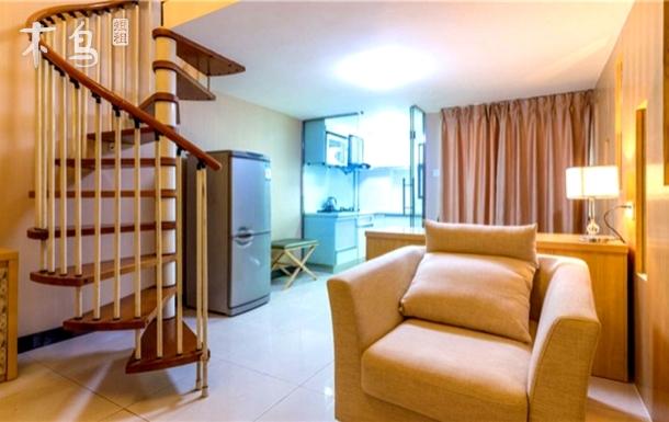 美领珠江新城双地铁精装复式双床公寓