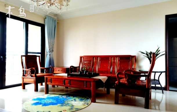 北海银滩整套出租,三居室房间