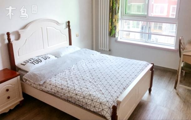 6号线地铁独立单间温馨欧式大床房整租