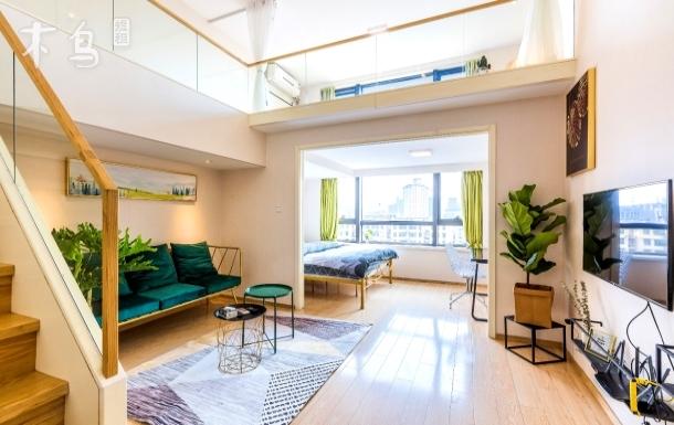 四舍公寓,西溪湿地,西湖黄龙体育馆,loft,可以住6人