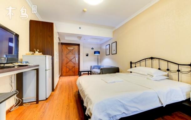 【火烈鸟】会展中心商圈电梯公寓可变双床