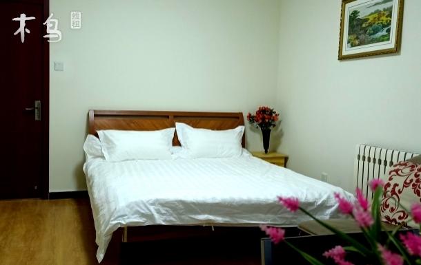 鸟巢,水立方地铁五号线阳光充足的大床房