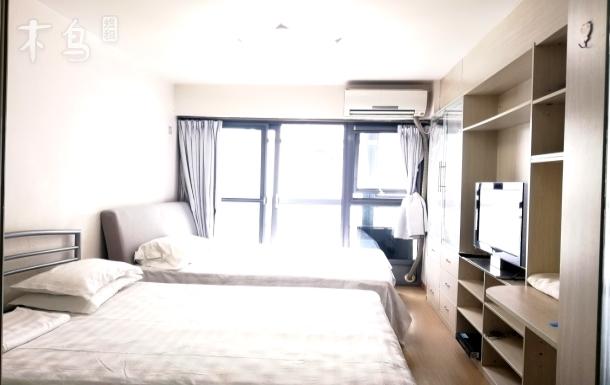 同仁医院北京站天坛故宫双大床房