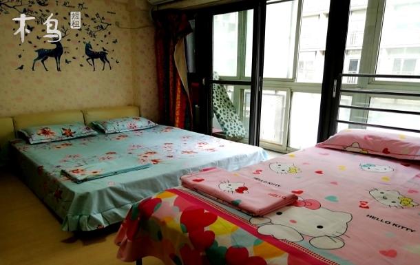 天坛长安街北京站同仁协和附近宽敞温馨一居
