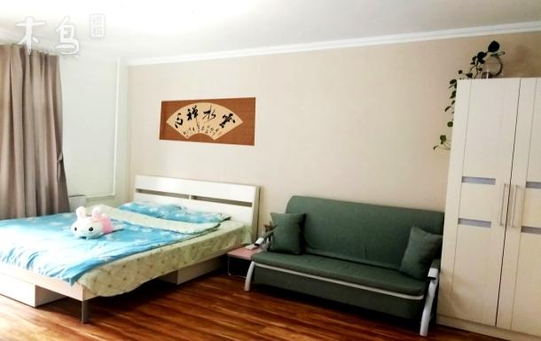 首师大花园桥6号线地铁阳光充沛的大床房整租