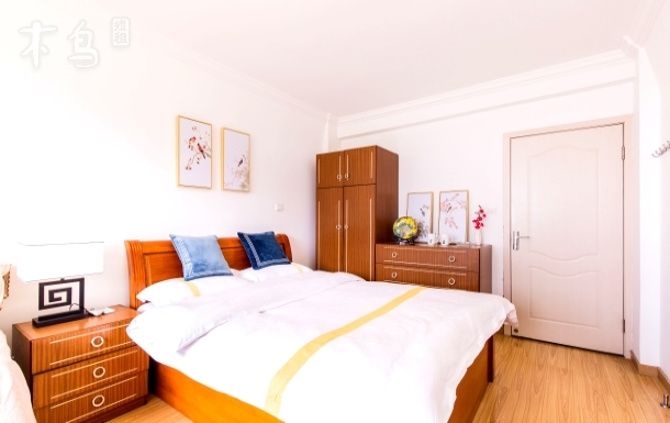 【爱尚公寓】外滩景观中式大床房