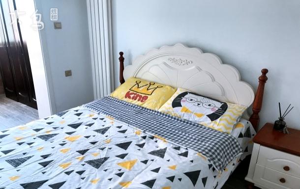 6号线地铁阳光充沛欧式温馨独立单间大床房