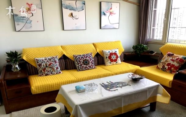欢迎回家主题民宿3(可洗衣服可做饭)性价比超高两居室