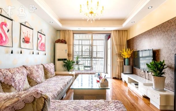 武汉站附近可以做饭两居室大阳台