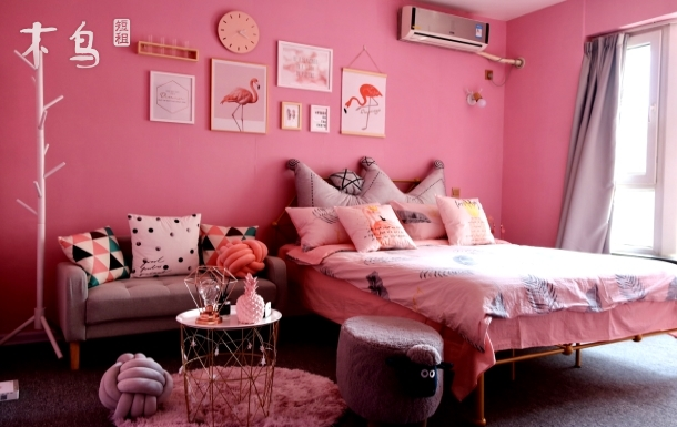 【从今以后】粉色少女ins风 双林地铁站旁 一居室
