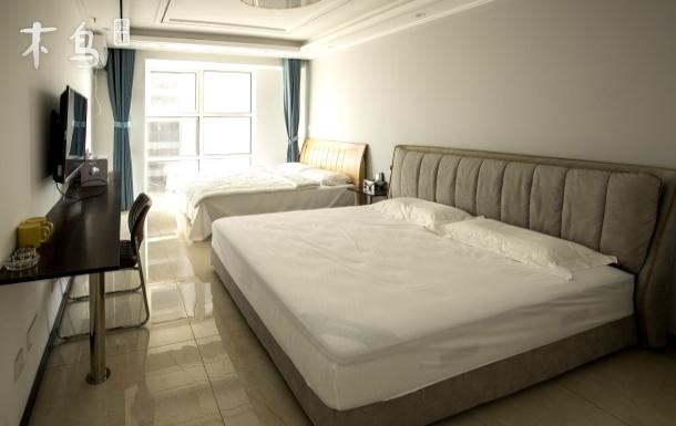 薛家岛陶然居公寓 简约双床房