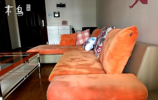 光华公园地铁4号线阳光舒适一居室