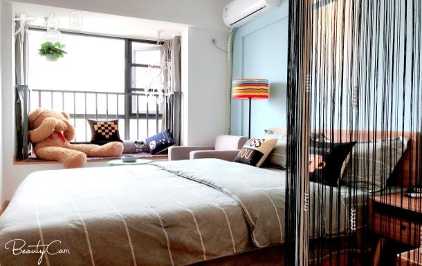 地铁7号线 温馨、浪漫之家一居室