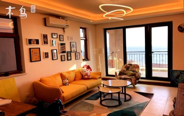威海环翠区环海路一级海景房超大阳台180度海景