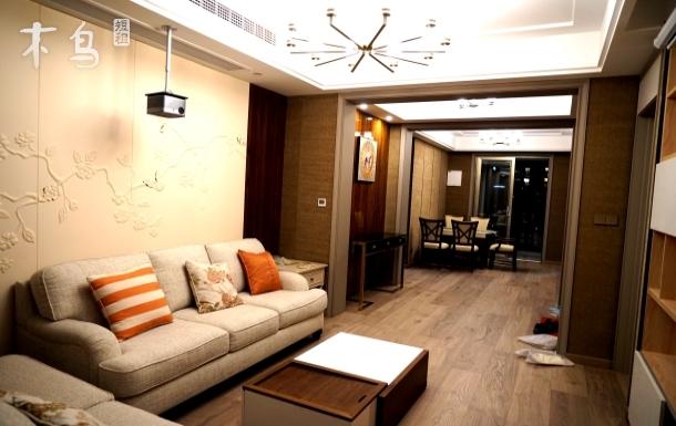 全新146方百万豪装 大金中央空调地暖 石墨烯地暖三居室