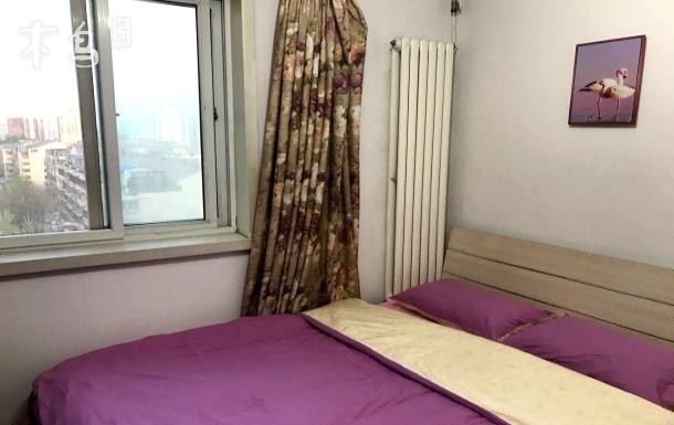 地铁10号线潘家园温馨舒适双人房