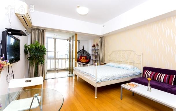开心公寓舒适-摇篮一居(免费接送乐园)