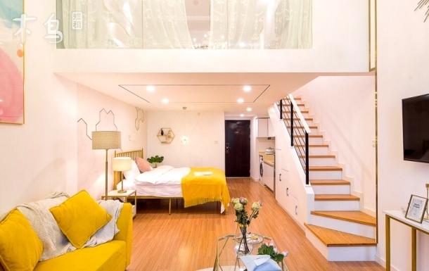 滨江大学城高层loft两居室 近拉圾街 近儿保