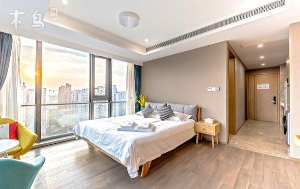 【京杭运河畔】180度广角城景精装一居大床房