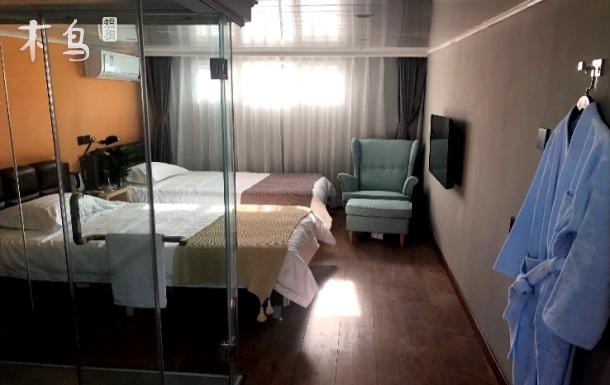 郑和故居/后海鼓楼四合院观景双床房