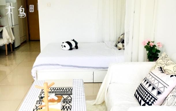 现代风格温馨一居室,近机场近壹方城商场