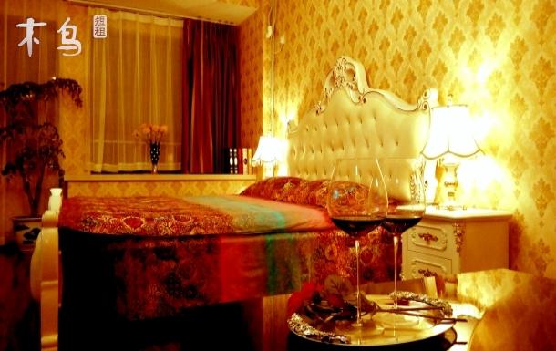 武汉地铁欧式公寓大床房