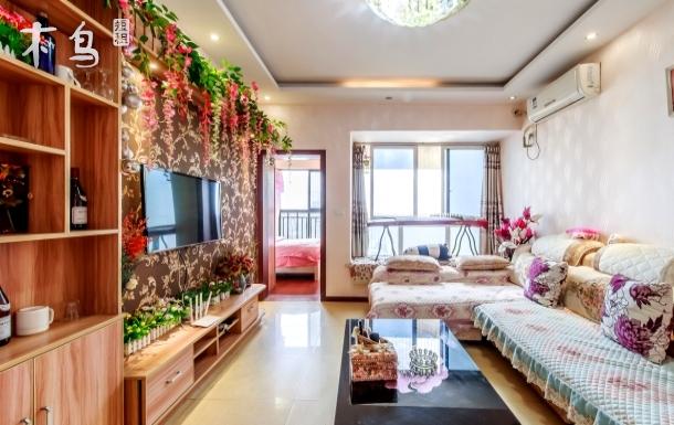 维诗卡优雅温馨套房可做饭停车,乐和乐都近 两居室
