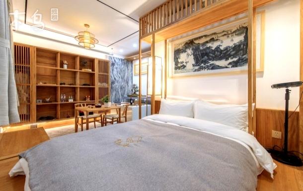 隐海.水墨·海棠画院.后海边老北京庭院房