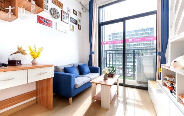 【民宿公寓】天河复式Loft公寓/可做饭/火炉山森林公园