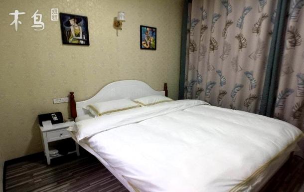 武汉天河机场北欧舒适温馨大床房 机场范围24小时免费接送