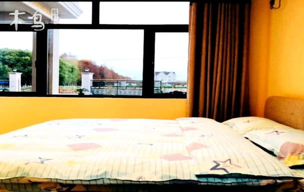 临港新城 滴水湖 海洋公园 海边 机场附近 简洁温馨民宿(村沐-紫苑房)