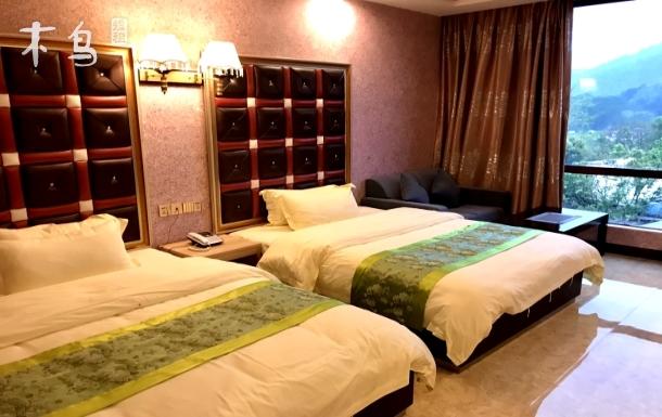 广州白水寨仙河谷农庄高级山景双床房