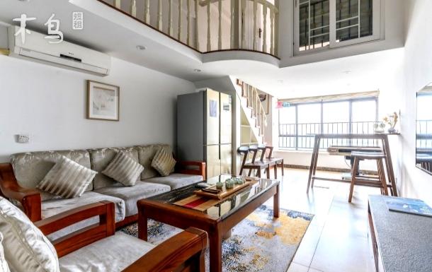 复式2卧室超大空间/高楼层/广州长隆三大乐园旁/直达广州南站,广州塔,琶洲交易会