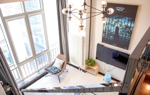 绿地中央,温馨优雅loft复式洋房