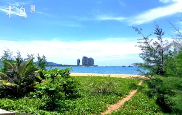 三亚湾路近海海景/有厨房可做饭/温馨家庭房