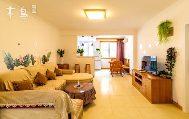 【橙途】海景花园/一步海水浴场/温馨二居