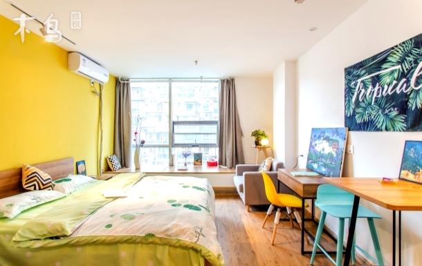 飘窗房 动物园/春熙路/宽窄巷子温馨的家 一居室