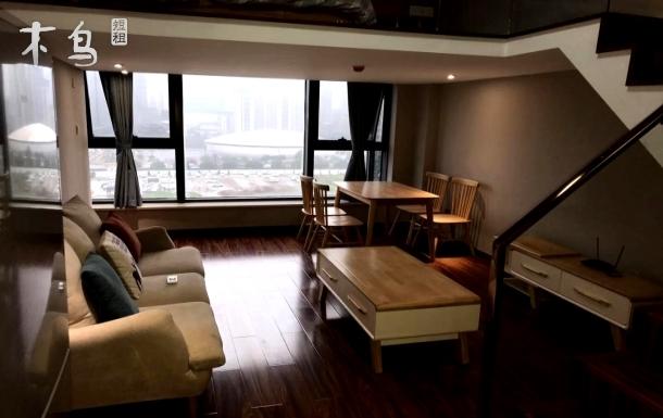 杭师大附近能做饭/loft两床