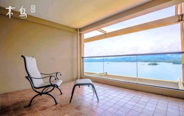 千岛湖全湖景两居室超大观景阳台代售景区门票