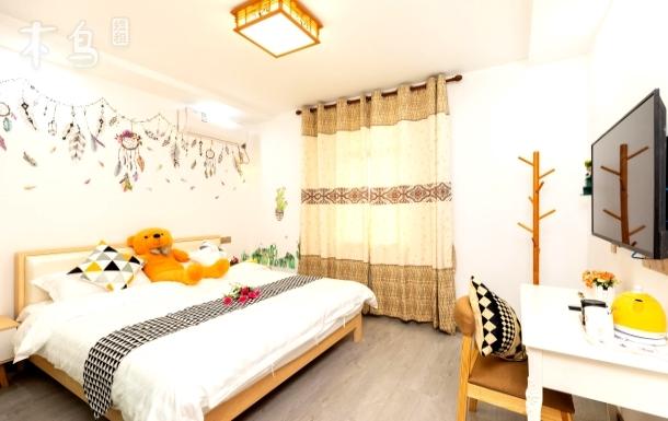 【馨颐】免费迪士尼乐园接送--北欧简约大床房【近浦东机场/上海野生动物园】