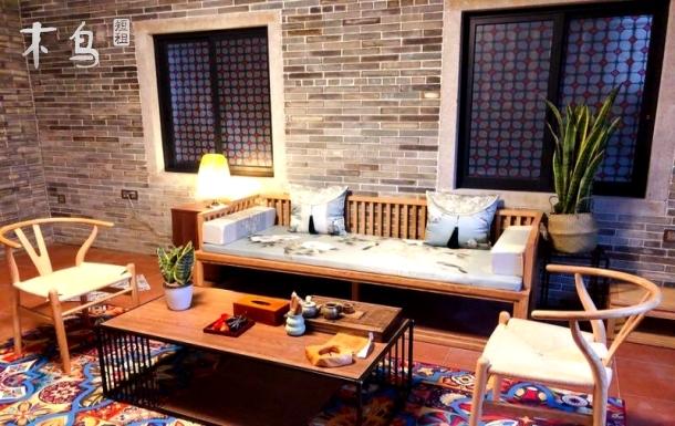 广州琶洲会展中心广州塔珠江边黄埔古村古色古香民居一室一厅高端大气便宜实惠