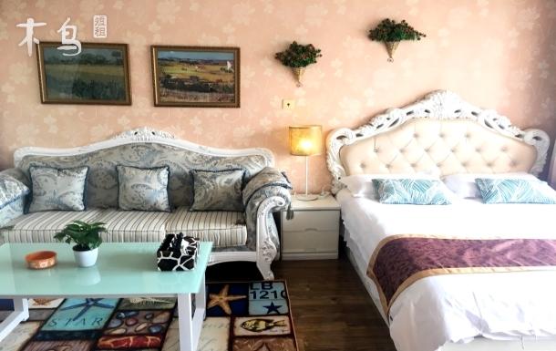 精装修大一室户欧式阳光充足大床房